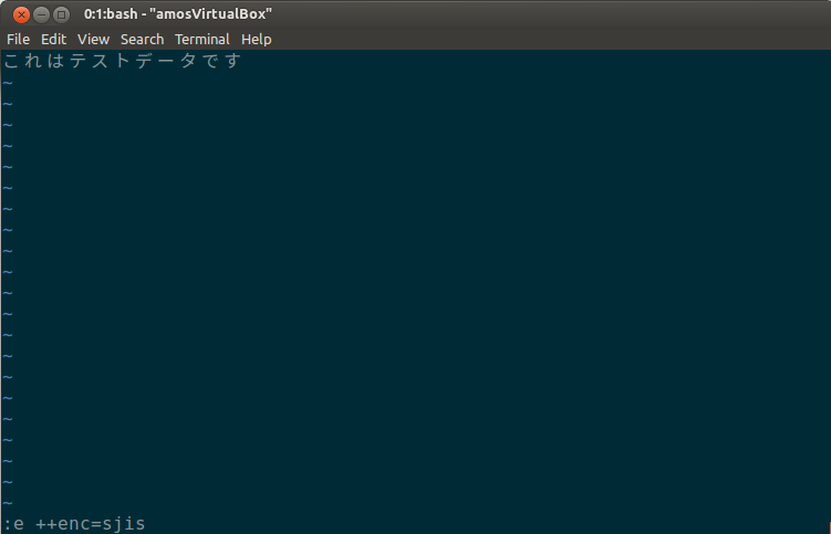 After reload the file by this command, it become readable